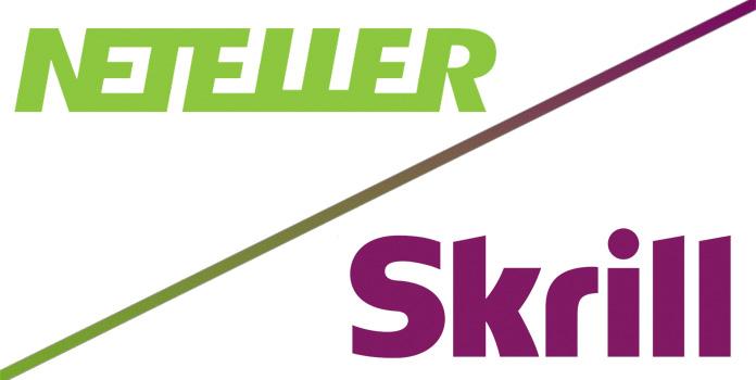 Neteller and Skrill logos
